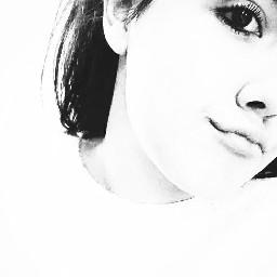 monochrome blackandwhite portrait girl highcontrast freetoedit