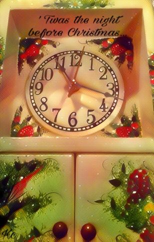 And All Through The House... #christmaseve #tradition #countdowntochristmas #story #clock #magic #effect #colorful