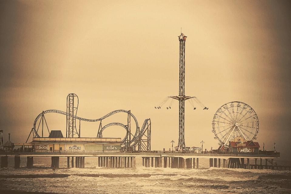 Galveston Pleasure Pier. #FreeToEdit