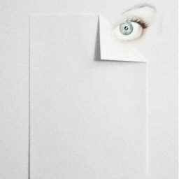 white paper inside eye hide freetoedit