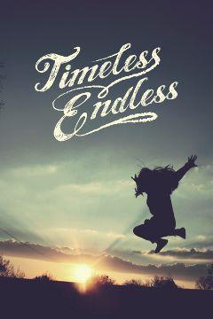 timeless endless freedom flight