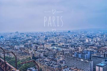 paris skyline birdseyeview travel vsco