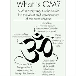 ohm ohmygirl om meditation meditate