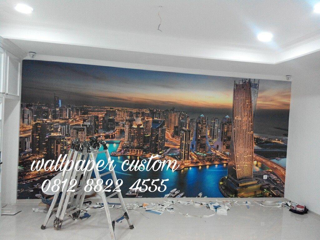 Wallpaper Dinding Gambar Pemandangan Kota Harga Rp C