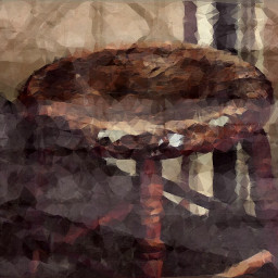 sit gone stool industrial old