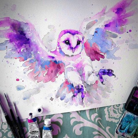 imagination owl lol latepost like4like