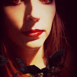 snapchat vampire filter bats selfieart