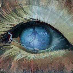 editedwithpicsart remix eyes artistic artwork