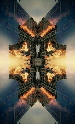 abstract weird strange art editingisfun