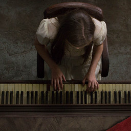 oldpiano music girl playing piano dpcinthecenter dpcfromabove