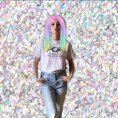 freetoedit unicornmakeup remix holographicbackgrounds edited