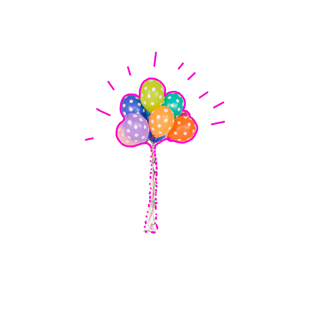 #FreeToEdit #ftestickers #balloons