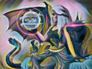 freetoedit remixed dragon moon birds