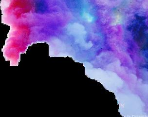 smoke rainbow rainbowsmoke freetoedit