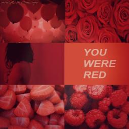 pastelred red pastelredaesthetic redaesthetic aesthetic