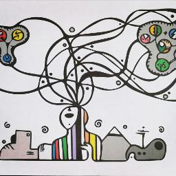 artecontemporaneo contemporaryart omg conceptual brain freetoedit