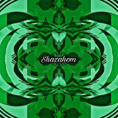 shazahom1 mirrorart abstract green emotions