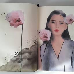 drawing collage sketch sketchbook