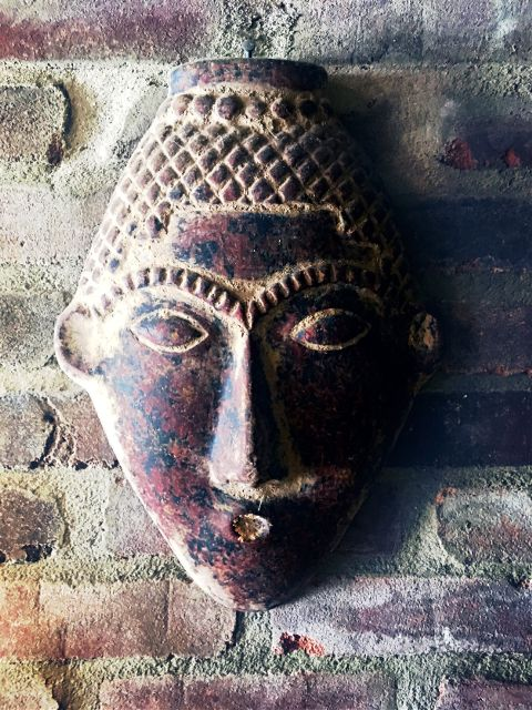 #mask,#brickwall,#colorful,#art,#artwork